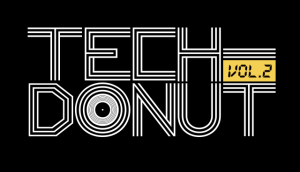 TECH-DONUT Vol.2 Logo