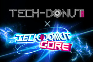 TECH-DONUT Vol.3 + TECHDONUT CORE  LOGO