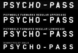 PSYCHO-PASS LOGO